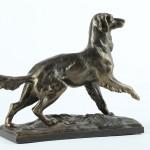 Памятный подарок охотнику. Чугунная статуэтка «Стойка по дичи»