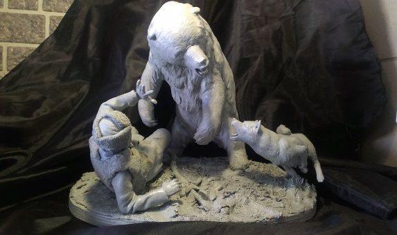 Алтайский самородок¬. Скульптор – Александр Белов