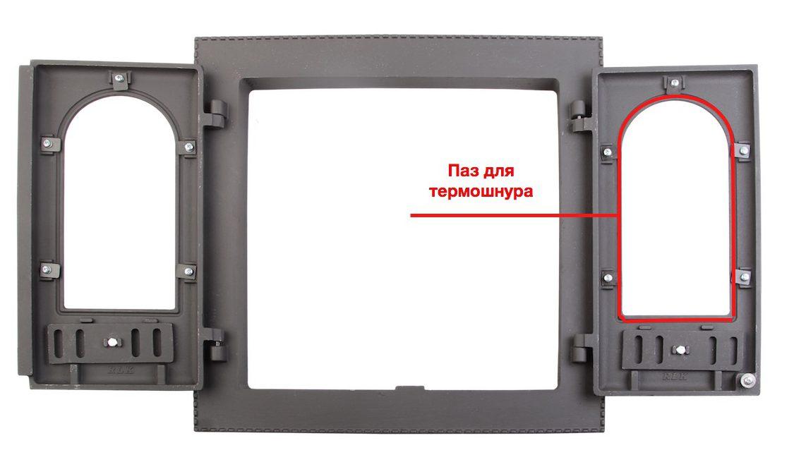 Чугунная дверца для печи и камина - ДК-6С – гордость производителей российского печного литья