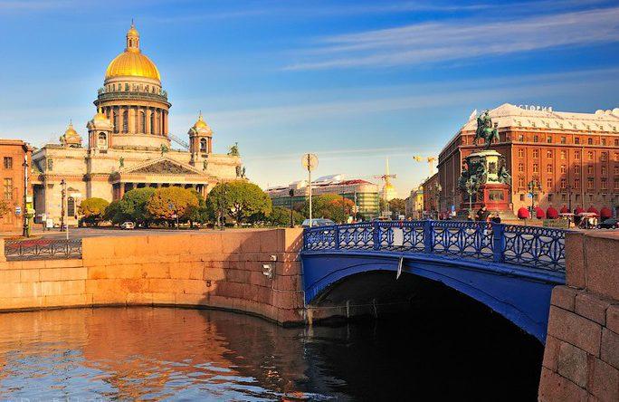Синий мост, Санкт-Петербург