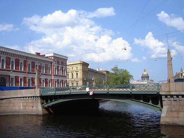 Мост поцелуев, Санкт-Петербург