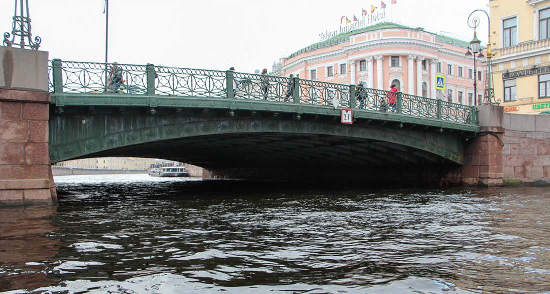 Первые чугунные мосты Санкт-Петербурга