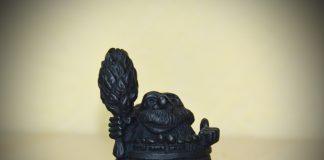 Чугунный оберег для бани – статуэтка «Банник»