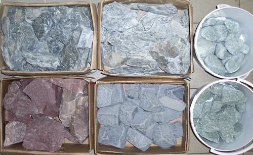 Банные камни. Ядрёный пар чугунных банных камней