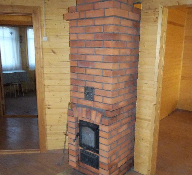 Кирпичная печка для дачи