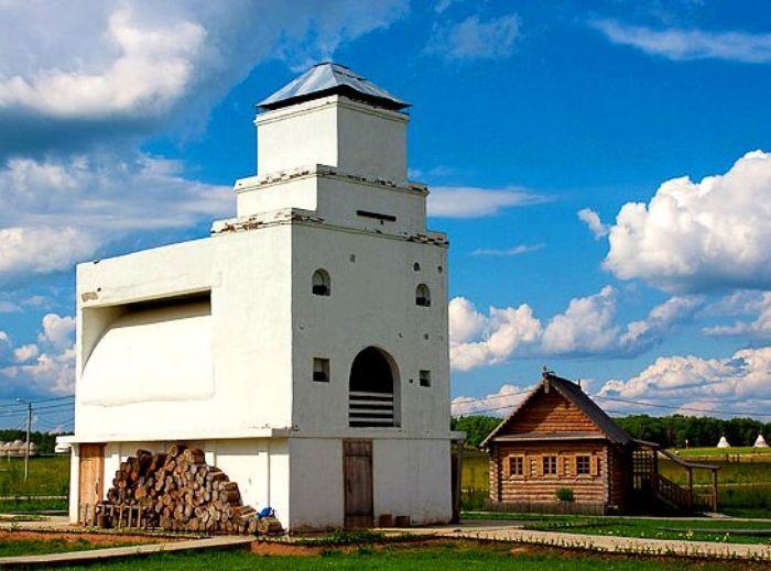 Памятник русской печи, село Петрово