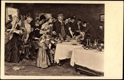 Обменный пункт драгоценностей на чугунные украшения, 1814 год