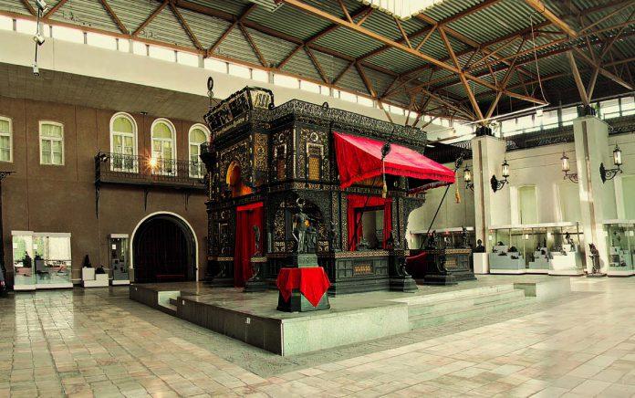 Каслинский чугунный павильон – единственный в мире